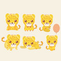 Leopard set.