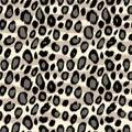 Leopard Skin Animal Print Seam...