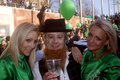 Leprechaun and the angels, Budapest, Hungary Royalty Free Stock Photos