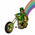 Leprechaun Chopper 1 Royalty Free Stock Photo
