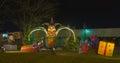 Leprechaun & gifts Royalty Free Stock Photo