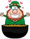 Leprechaun Gold Stock Photography