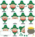 Leprechaun Set Stock Images