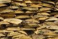Les actions embarquent le bois de chauffage Photographie stock libre de droits