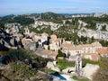 Les Baux-de-Provence, Francia Imágenes de archivo libres de regalías