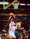 Les Chicago Bulls de Michael Jordan Photographie stock libre de droits