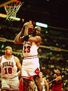 Les Chicago Bulls de Michael Jordan Photo stock
