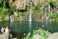 Les Cormorans waterfall on Reunion island, France