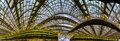 Les Halles metro station and shopping mall cupola Royalty Free Stock Photo