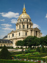 Cathedral  Saint-Louis-des-Invalides, Paris, France. Royalty Free Stock Photo