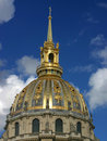 Les Invalides Dome & Spire Royalty Free Stock Image
