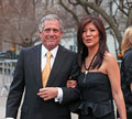 Les moonves and julie chen cbs president wife a cbs television personality arrive on the red carpet at the th annual tribeca film Stock Images