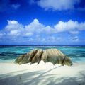 Les Seychelles Photos stock