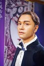 Leslie cheung hong kong the photo was taken in madame tussauds china wax figures the asian entertainment industry s top stars Stock Images