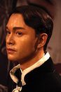Leslie cheung wax statue at madame tussauds museum at hong kong he was the mostacclaimed entertainers Stock Photo