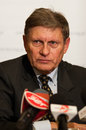 Leszek balcerowicz born january in lipno is a polish economist the former chairman of the national bank of poland and deputy prime Royalty Free Stock Photography
