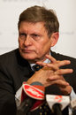 Leszek balcerowicz born january in lipno is a polish economist the former chairman of the national bank of poland and deputy prime Stock Image