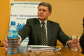 Leszek balcerowicz born january in lipno is a polish economist the former chairman of the national bank of poland and deputy prime Stock Photos