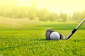 Let's golf Royalty Free Stock Photo