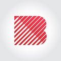 Letter B Symbol Design