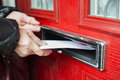 Letter in the mailbox Royalty Free Stock Photo