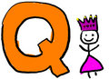Letter Q Royalty Free Stock Image
