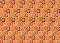 Letter Q pattern in different colored shades Royalty Free Stock Photo