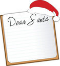 Letter for Santa Royalty Free Stock Photos