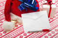 Letter for Santa Claus Royalty Free Stock Images