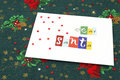 Letter to Santa Royalty Free Stock Image