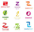 Letter Z Logo Royalty Free Stock Photo