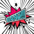 Lettering bang boom comic text sound