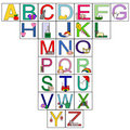 Letters of the alphabet Royalty Free Stock Photography
