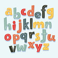 Letters of the Alphabet in Lowercase