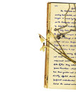 Lettres et fleurs Images libres de droits