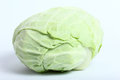 Lettuce closeu vegetable on white background Stock Photo