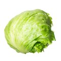 Lettuce green isolated on pure white background Royalty Free Stock Photography