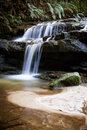 Leura cascades in the blue mountains new south wales australia Stock Image
