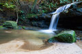 Leura cascades in the blue mountains new south wales australia Stock Photography