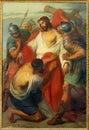 Leuven jesus stripped van zijn garments paint vormst michaels kerk michelskerk van jaar door alen markelbien Stock Foto