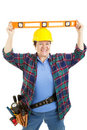 Level Headed Worker Royalty Free Stock Images