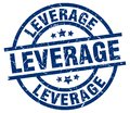 leverage stamp Royalty Free Stock Photo