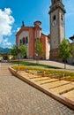 Levico Terme Royalty Free Stock Photo