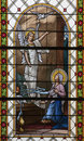 LEVOCA -  Annunciation - Slovakia Stock Images
