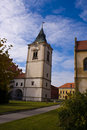 Levoca city center tower Stock Images
