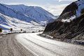 Lewis Pass Road, South Island, New Zealand Royalty Free Stock Photo