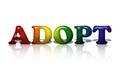 LGBT adoption Royalty Free Stock Photo