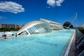 Lhemisfèric in the city of arts and sciences valencia spain – june valencia which was completed contains an Royalty Free Stock Photography
