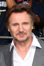 Liam Neeson arrives at the  Royalty Free Stock Photo