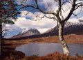 Liathach, a Torridon mountain, Scotland Royalty Free Stock Photos